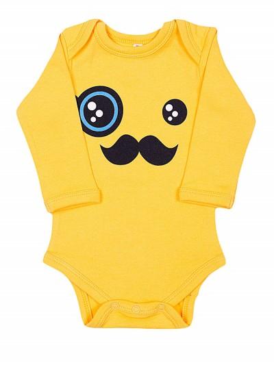 Боди для малышей (yellow)