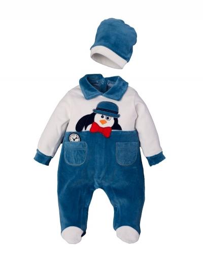 """Костюм для мальчиков """"Penguin blue 2"""""""