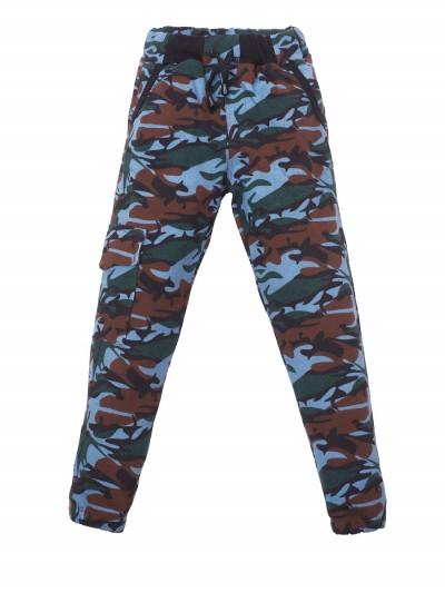 "Штаны с начесом ""Camouflage Brown"""
