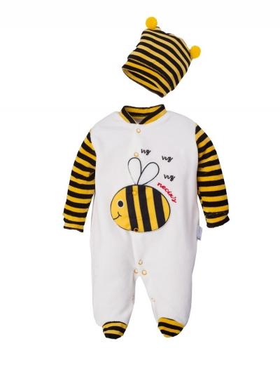 """Велюровый комбинезон для малышей """"Bee"""""""