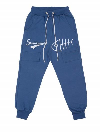 Штаны для мальчиков, темно-синие